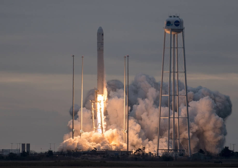 Antares rocket launch