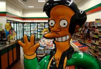 Apu, Indian character from The Simpsons