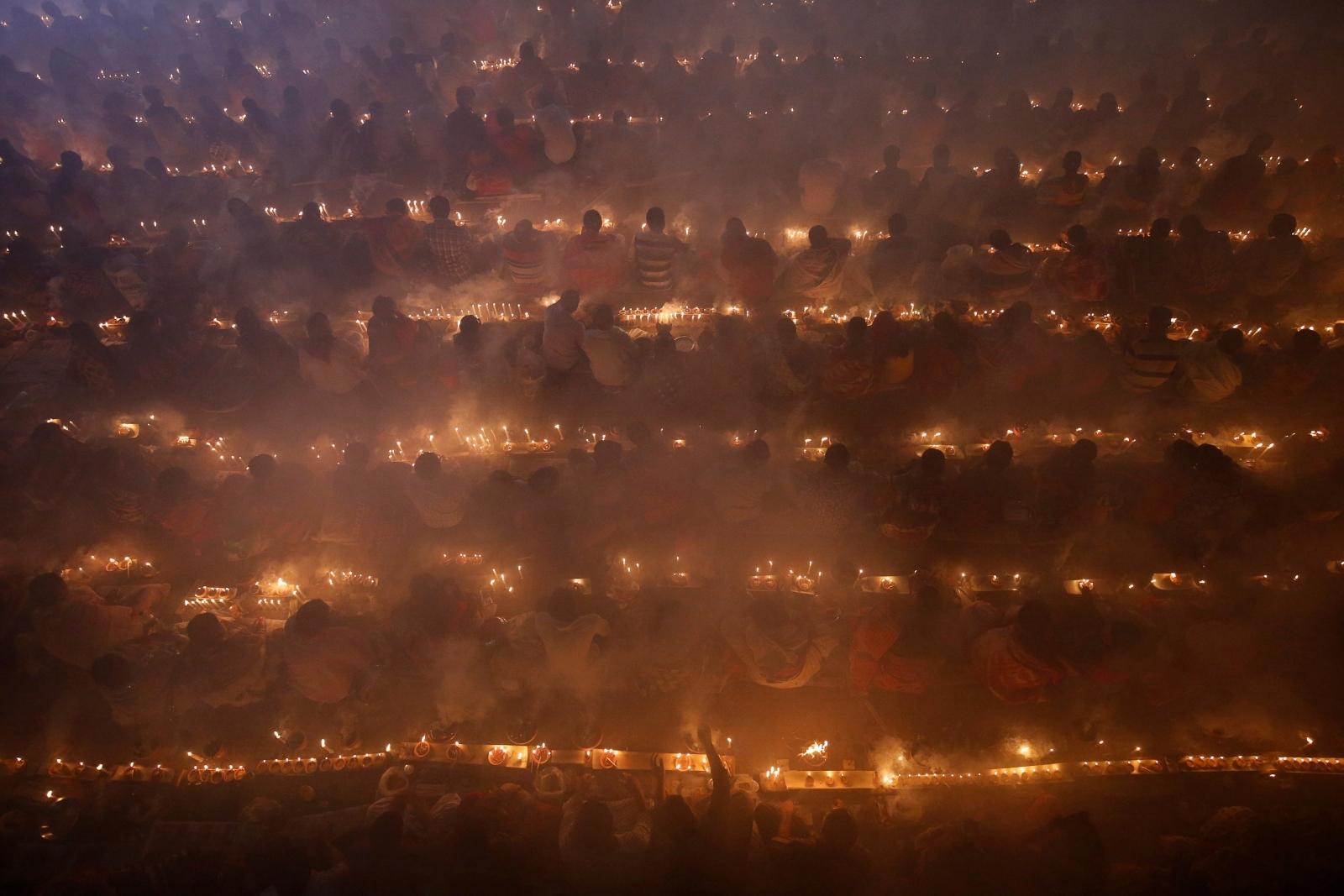 Bangladesh Hindu village burnt
