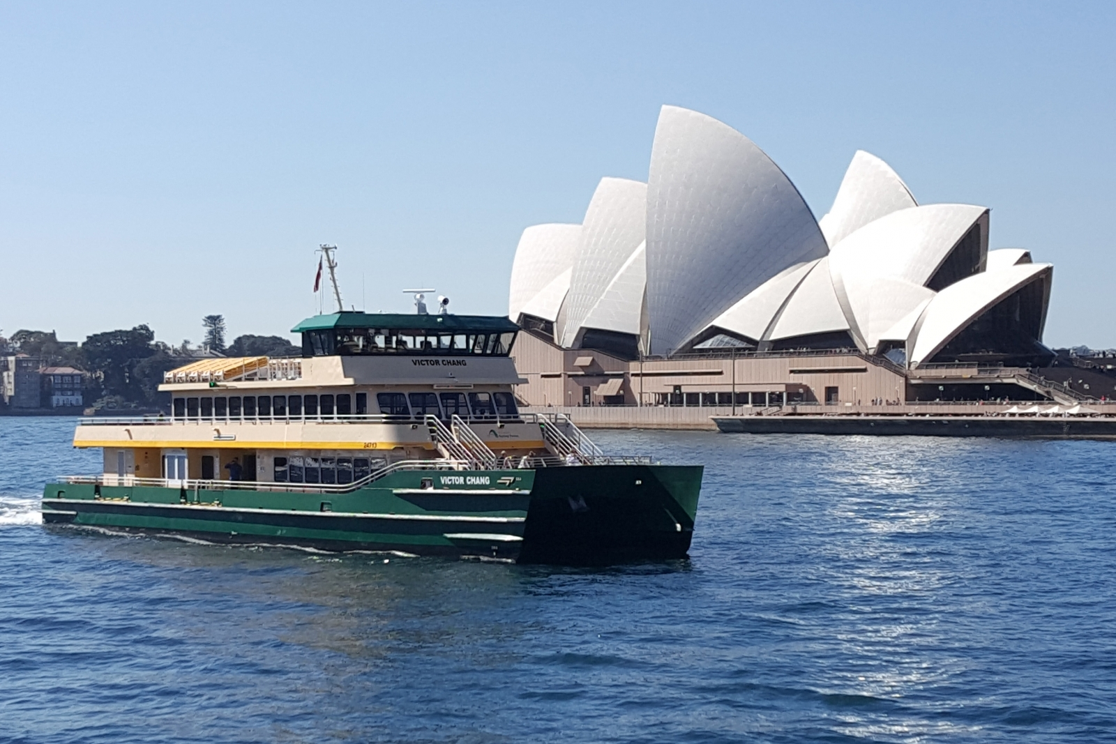 Victor Chang Ferry on Sydney Harbour