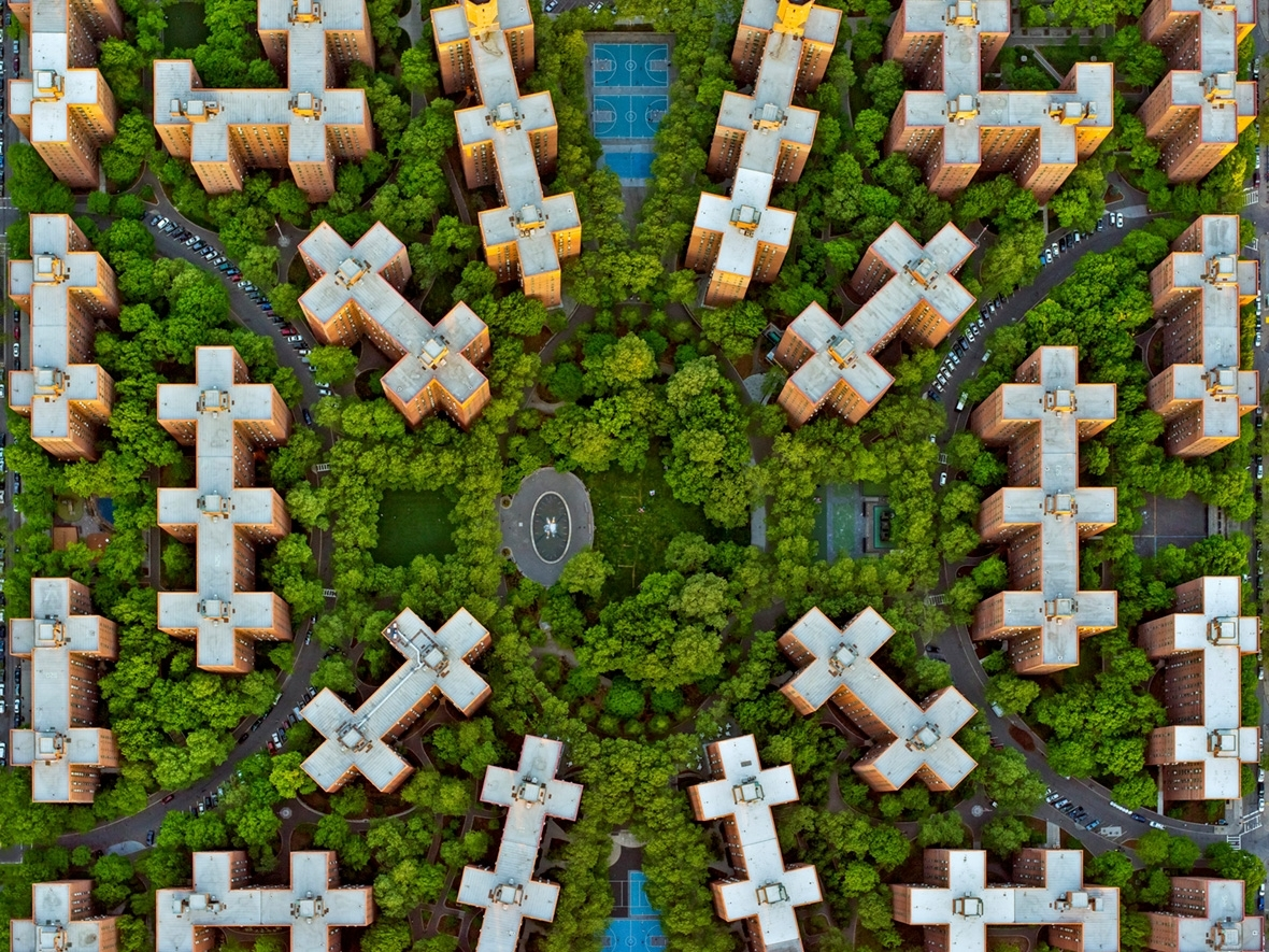 LA NY, Aerial Photographs of Los Angeles and New York