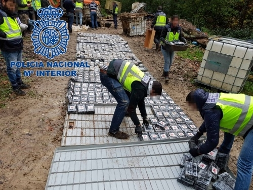 Spain cocaine bust