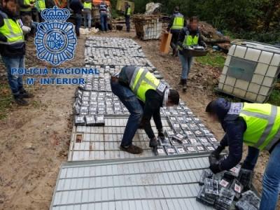 Spain cocaine bust