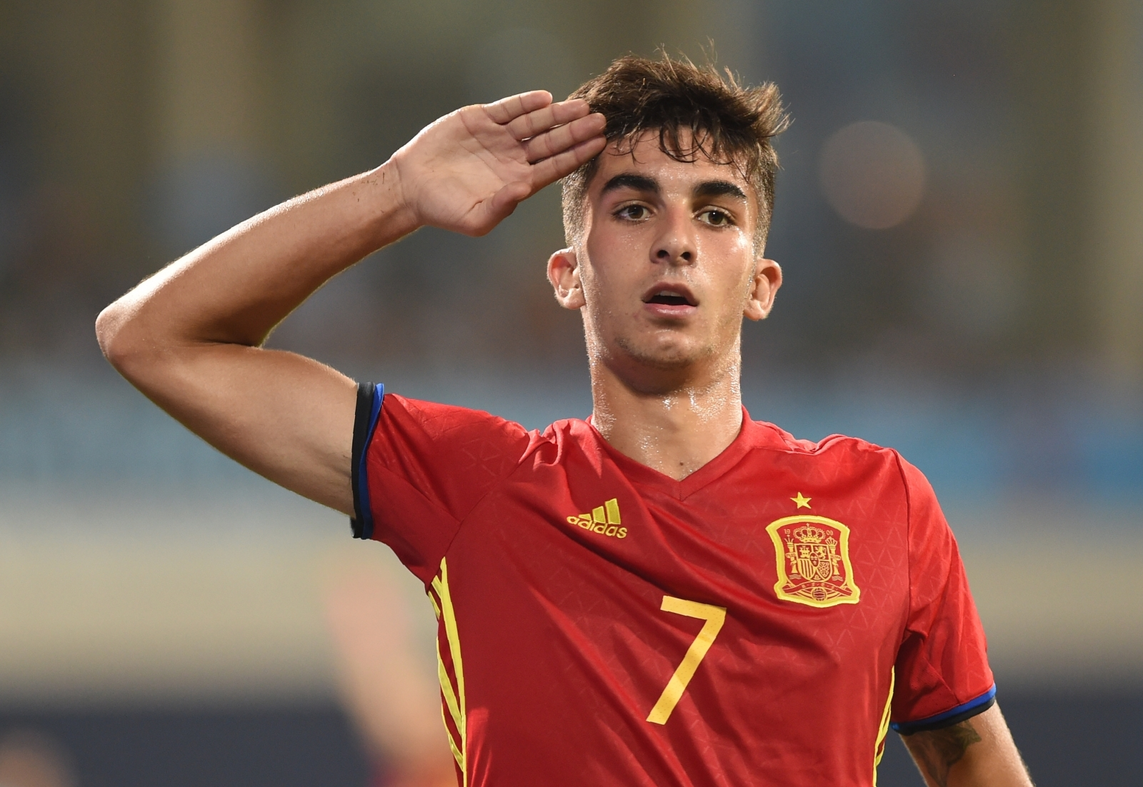 Barcelona 'keep scouting' Spain Under-17 international