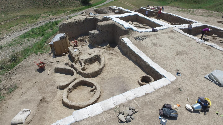 Excavations at Gadachrili Gora site