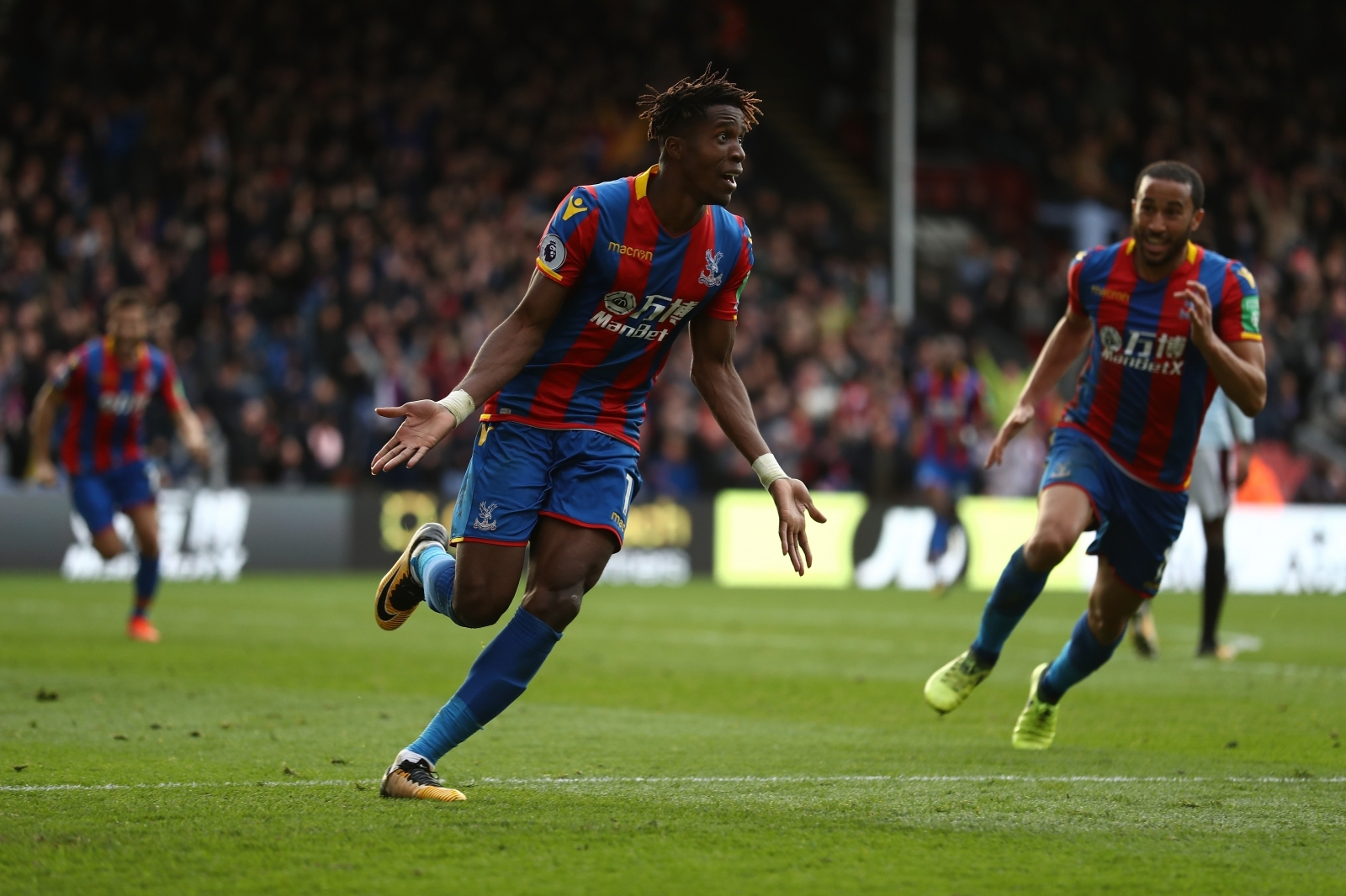 Yohan Cabaye: 'Vital Crystal Palace keep hold of Wilfried Zaha'
