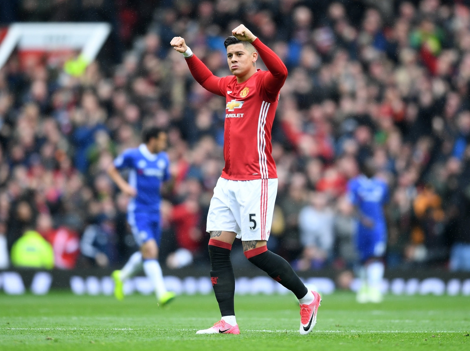 Marcos Rojo reveals his Man United comeback match