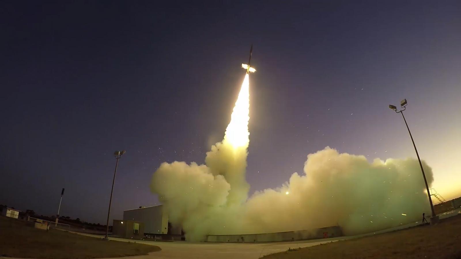 NASA supersonic parachute test