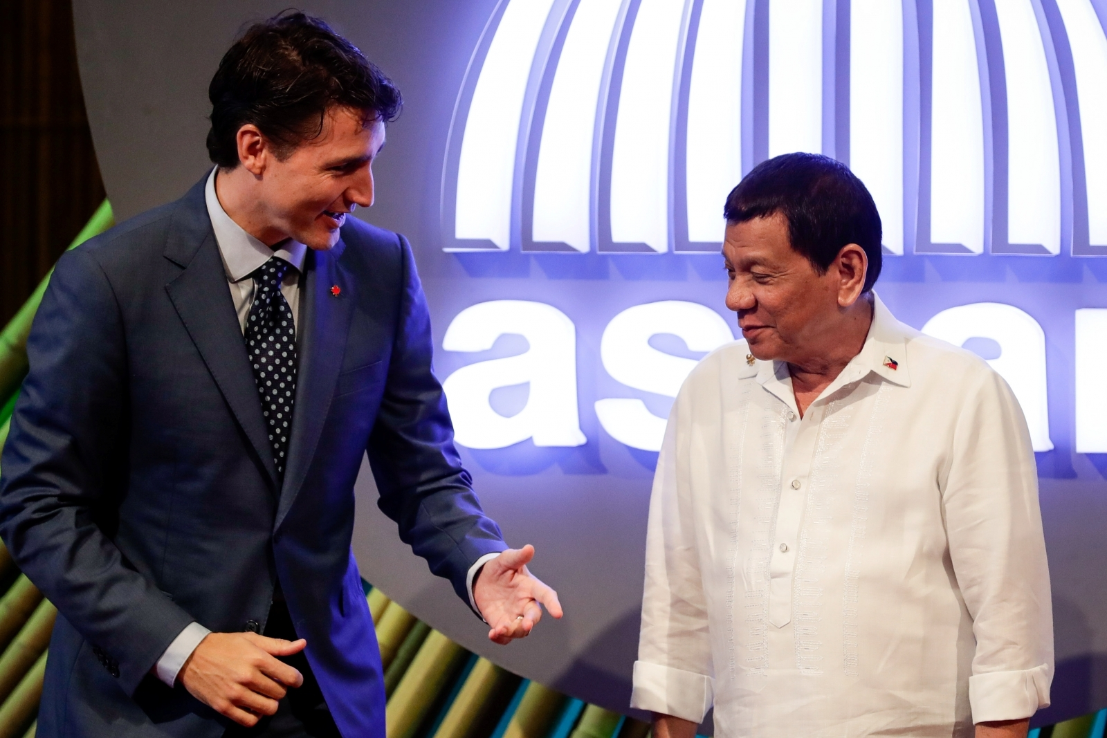 Duterte angered by Trudeau's comments