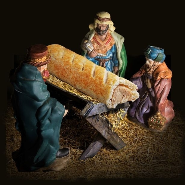 Greggs 'sorry' for replacing Jesus with sausage roll in Christmas advert