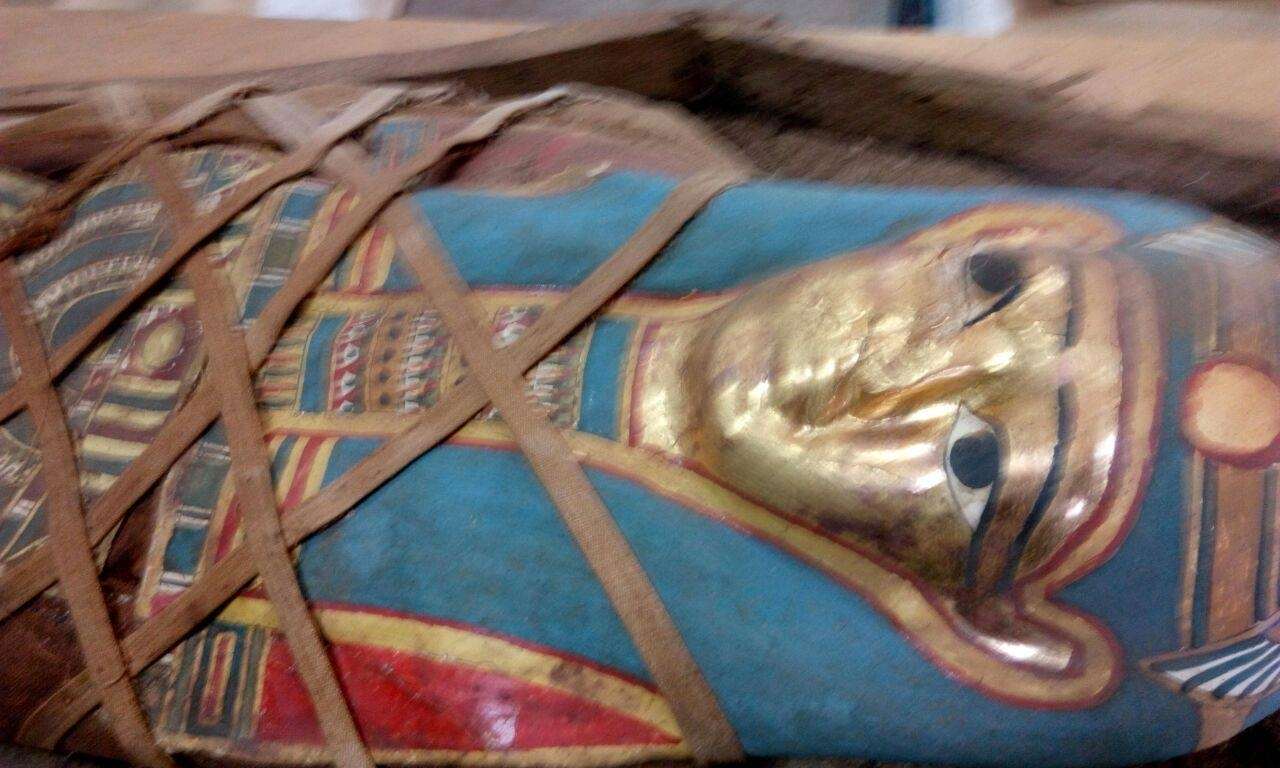 Ancient Egyptian mummy found