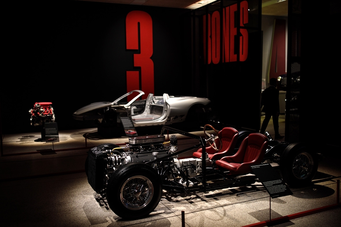 Ferrari exhibition Design Museum London