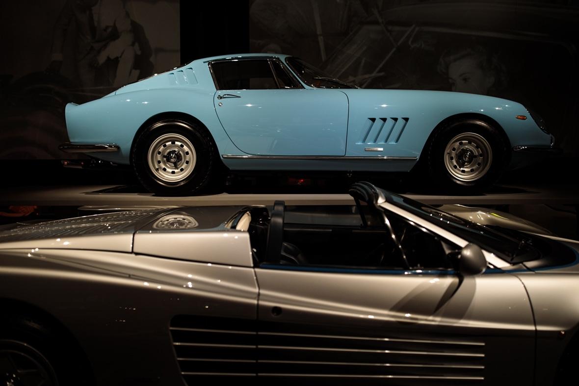 Ferrari exhibition Design Museum London