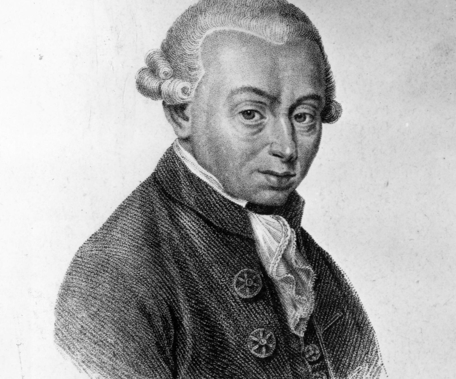 German philosopher Immanuel Kant