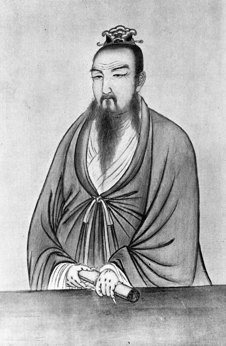Chinese philosopher Confucius, or K'ung Fu-tzu