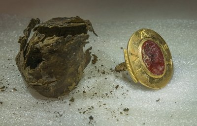 Discovery of treasure at French abbey