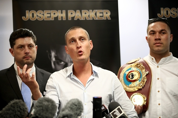 David Higgins and Joseph Parker