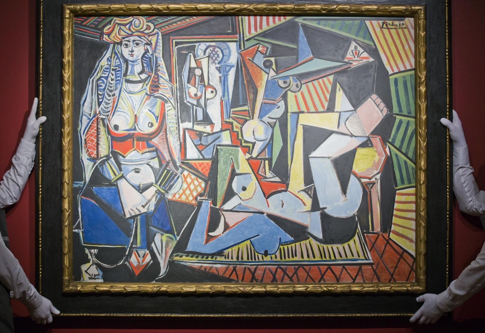 Pablo Picassos Les femmes dAlger (Version O)