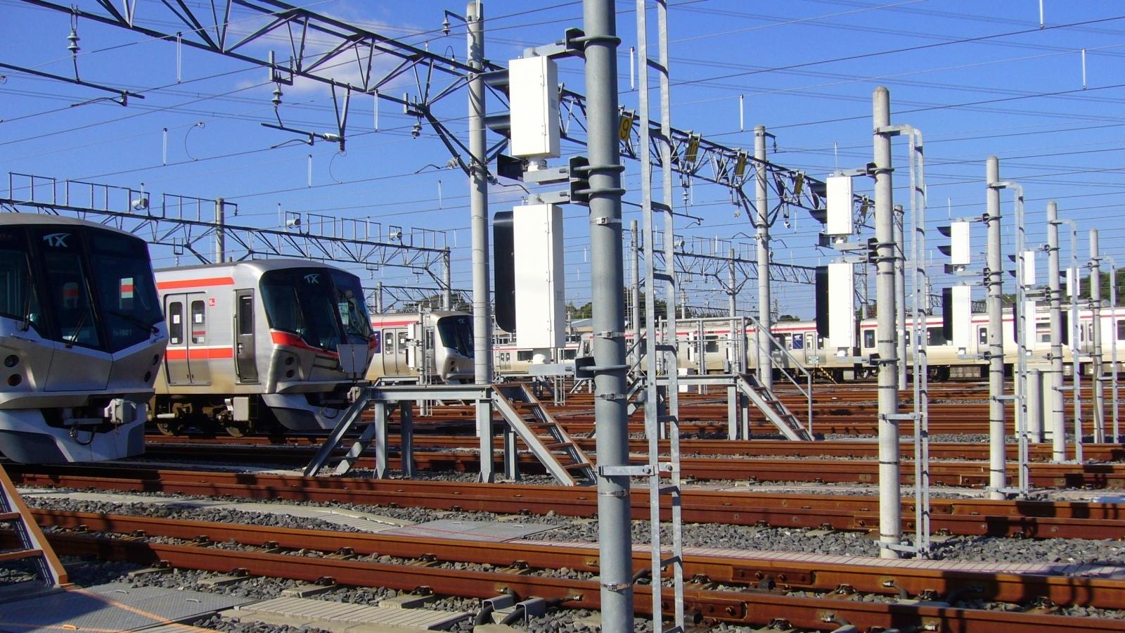 Tsukuba Express General Depot