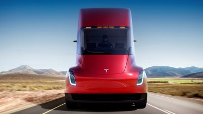New Tesla Semi