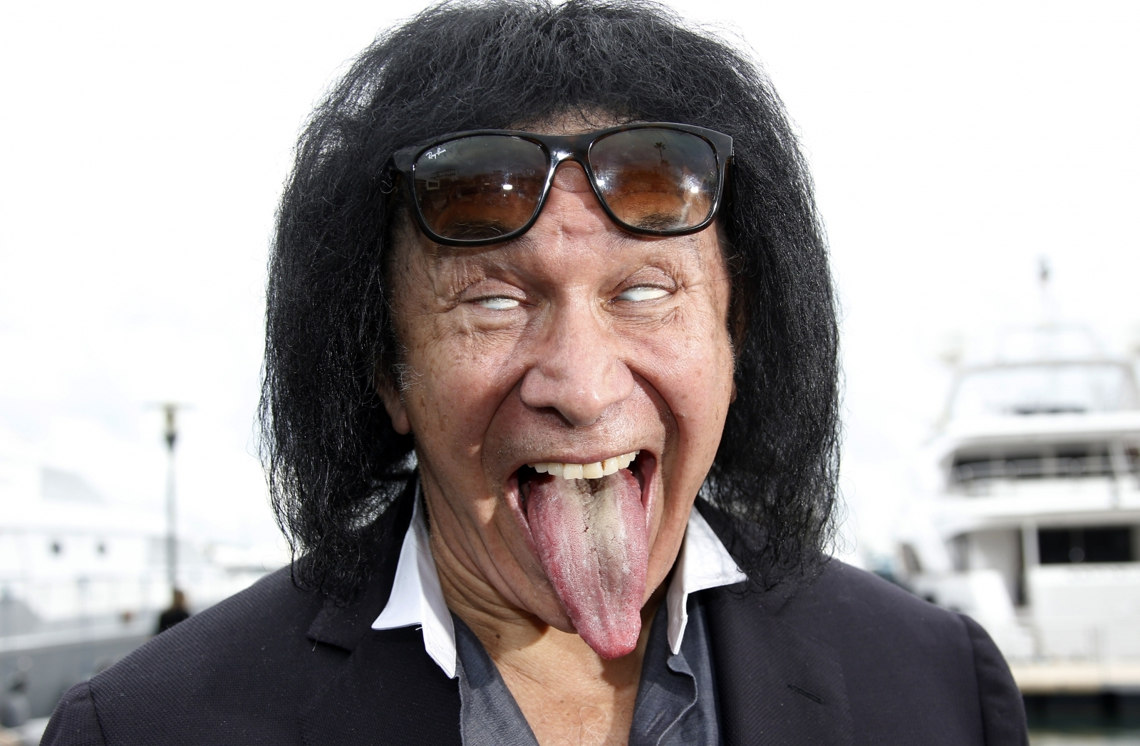 Gene Simmons banned by Fox News after reportedly exposing torso during meeting