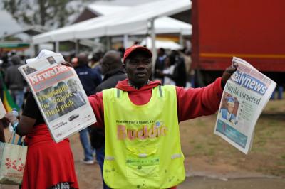 Zimbabwe Robert Mugabe Protest