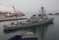 US warship collision