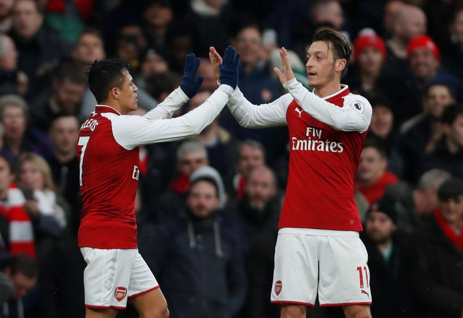 Alexis Sanchez & Mesut Ozil
