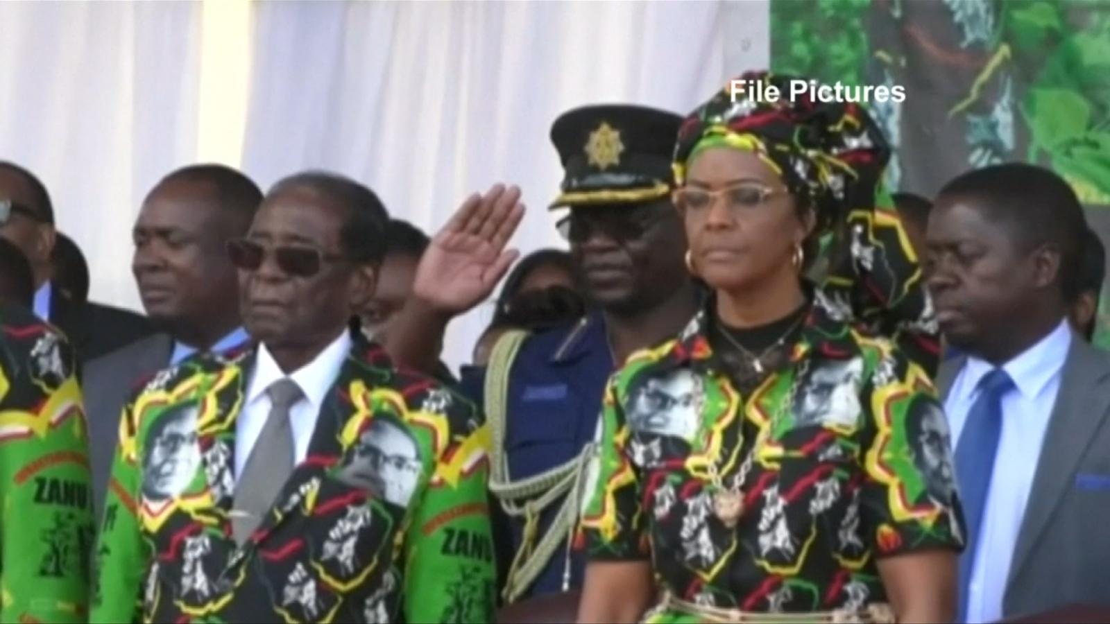 Zimbabwe's ruling party sacks Robert Mugabe