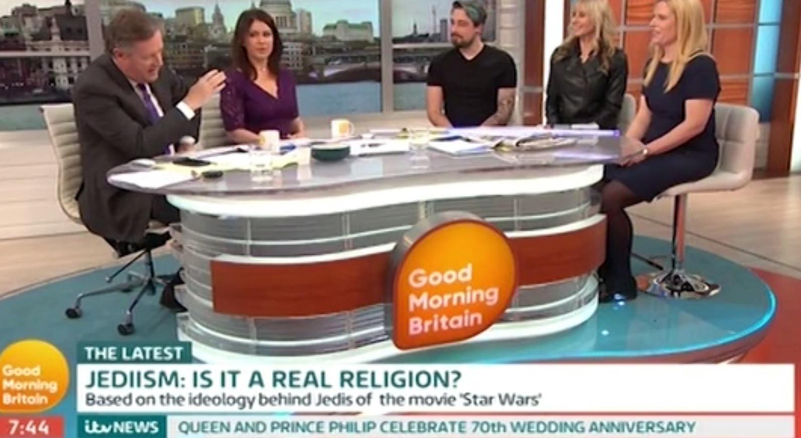 Good Morning Britain Jediism