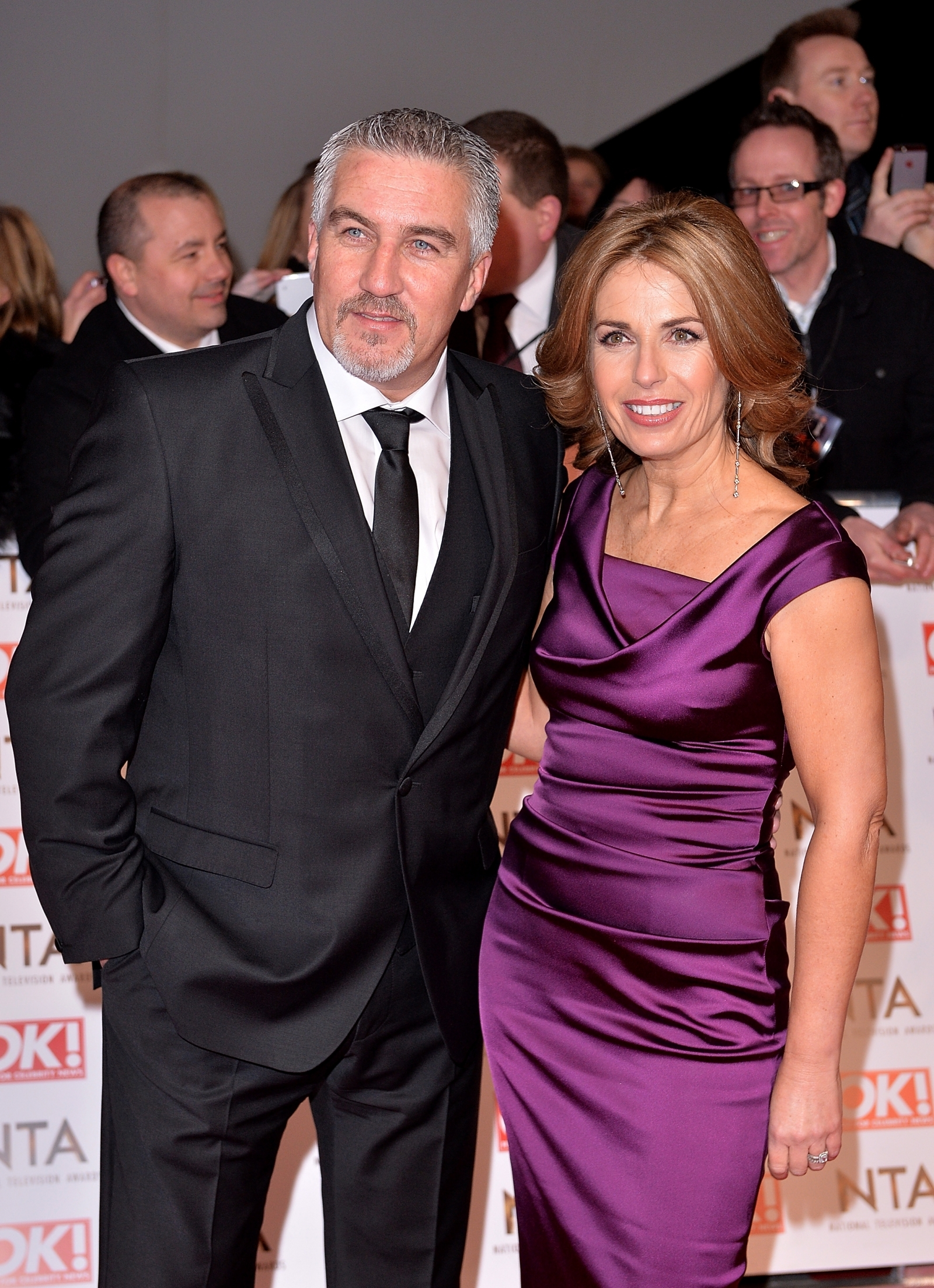 Paul Hollywood and wife Alex