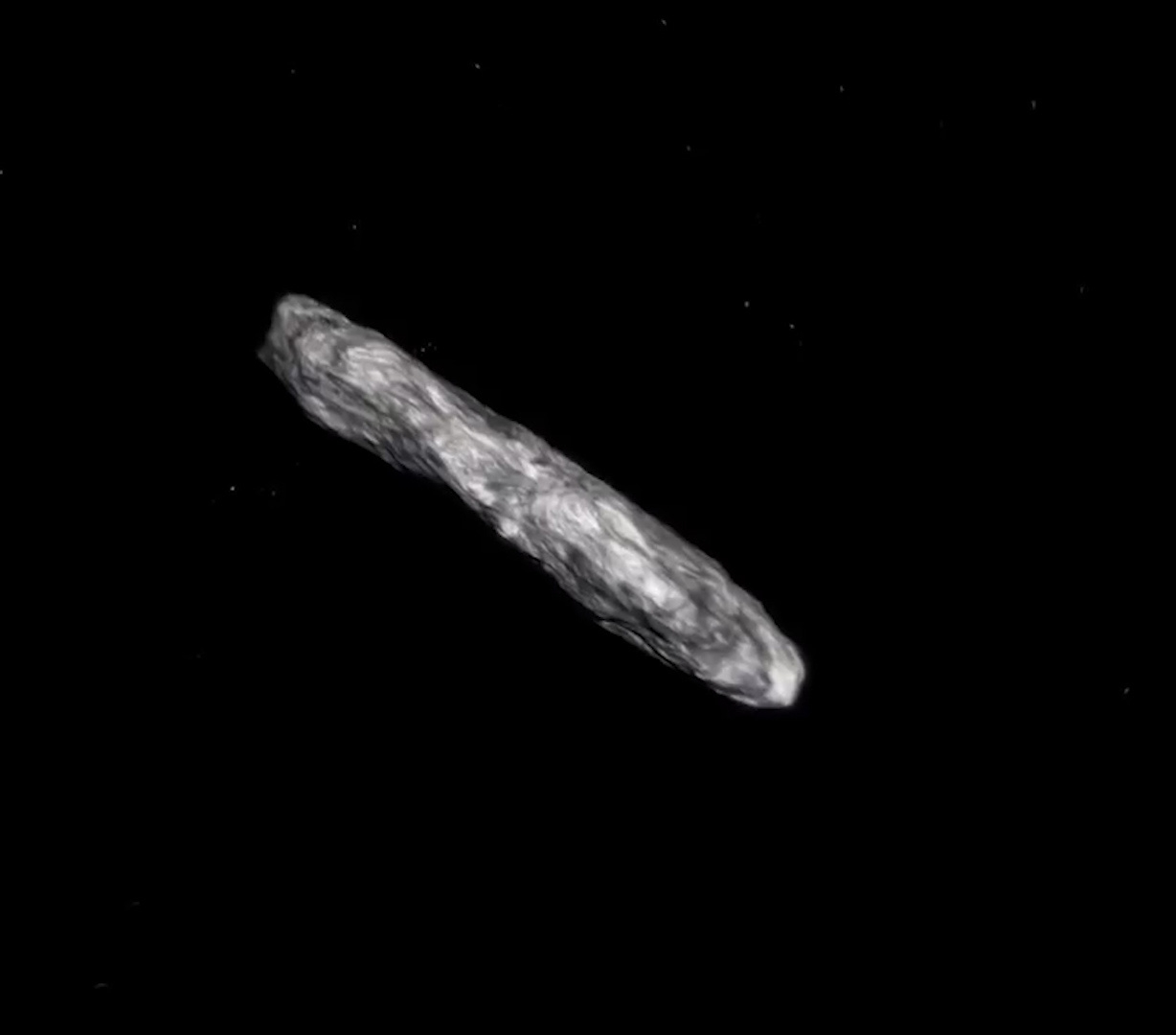 Image result for We got a good look at the interstellar asteroid and it's weird