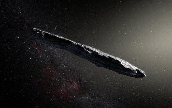 Oumuamua - interstellar asteroid