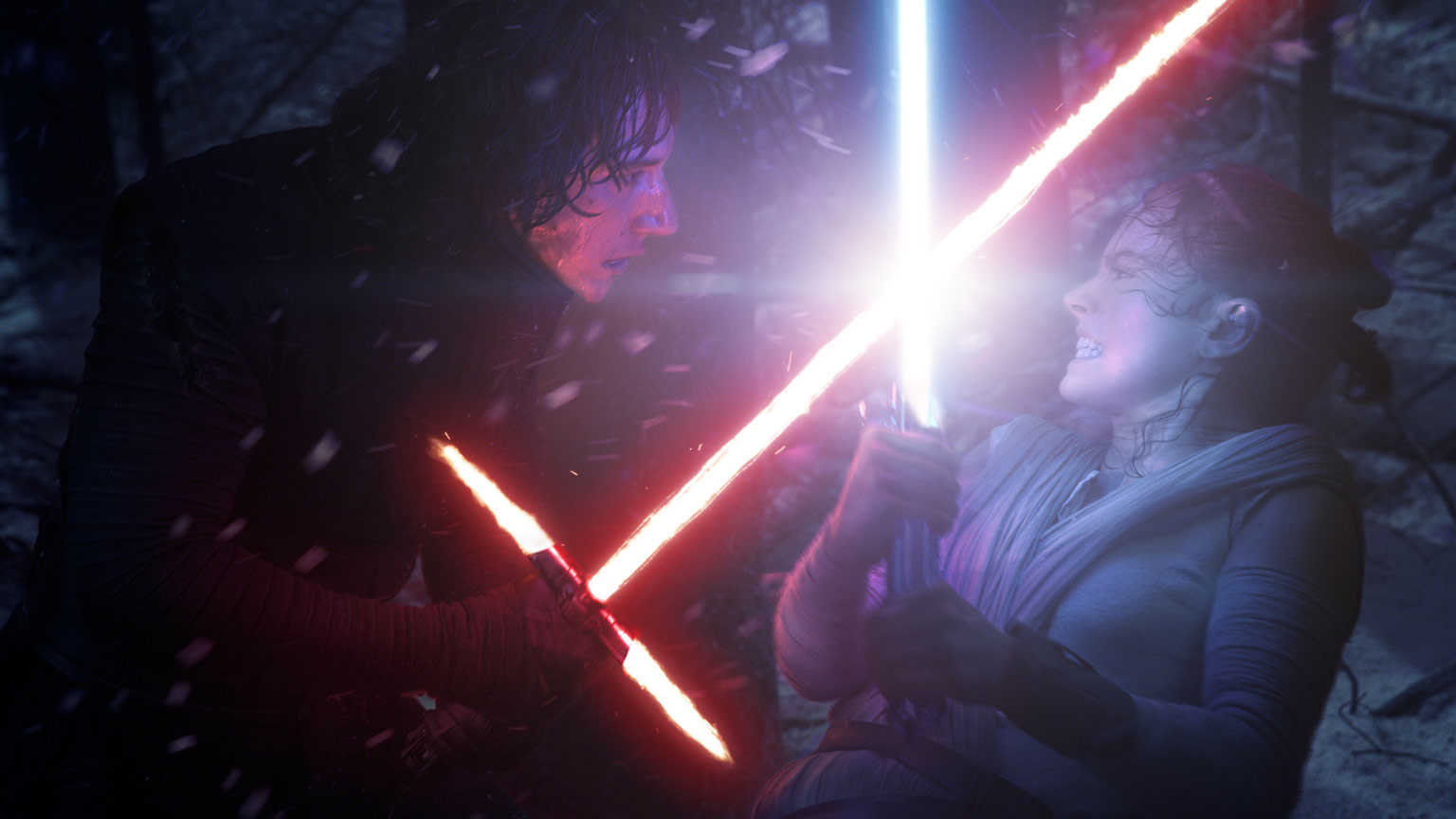 Rey Kylo Ren Star Wars