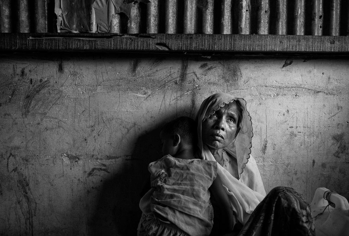 Rohingya Muslim refugees Kevin Frayer