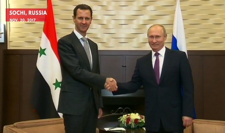 Putin Hosts Assad to Discuss the Future of Syria