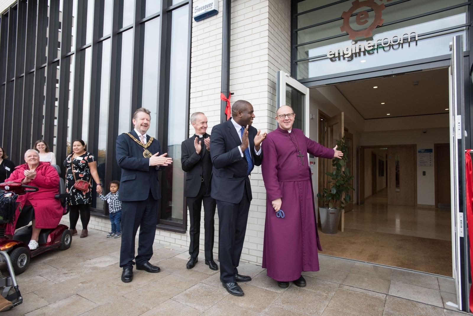New church in Tottenham Hale, London