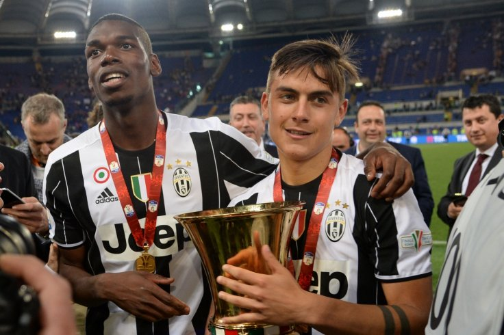Paul Pogba and Paulo Dybala