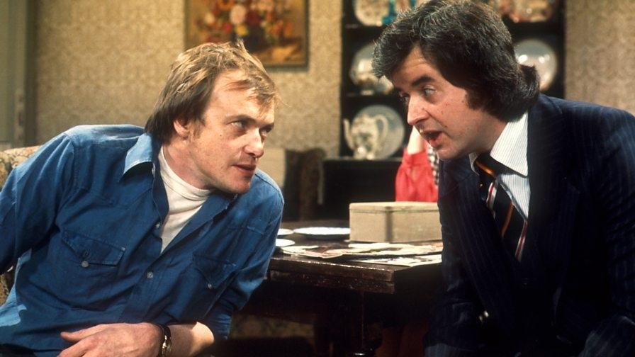 Rodney Bewes and James Bolam
