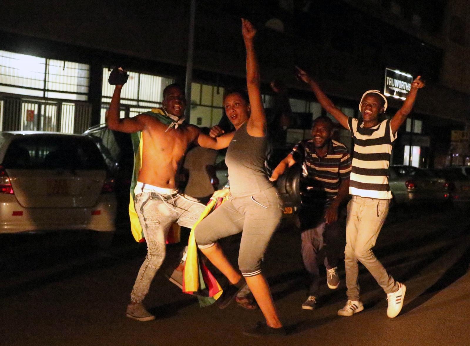 Zimbabwe celebrations