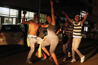 Zimbabwe celebrations