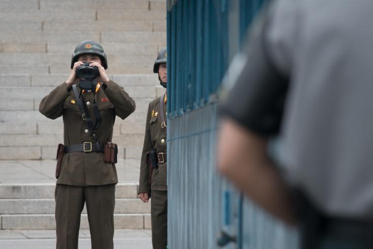 military demarcation line N Korea