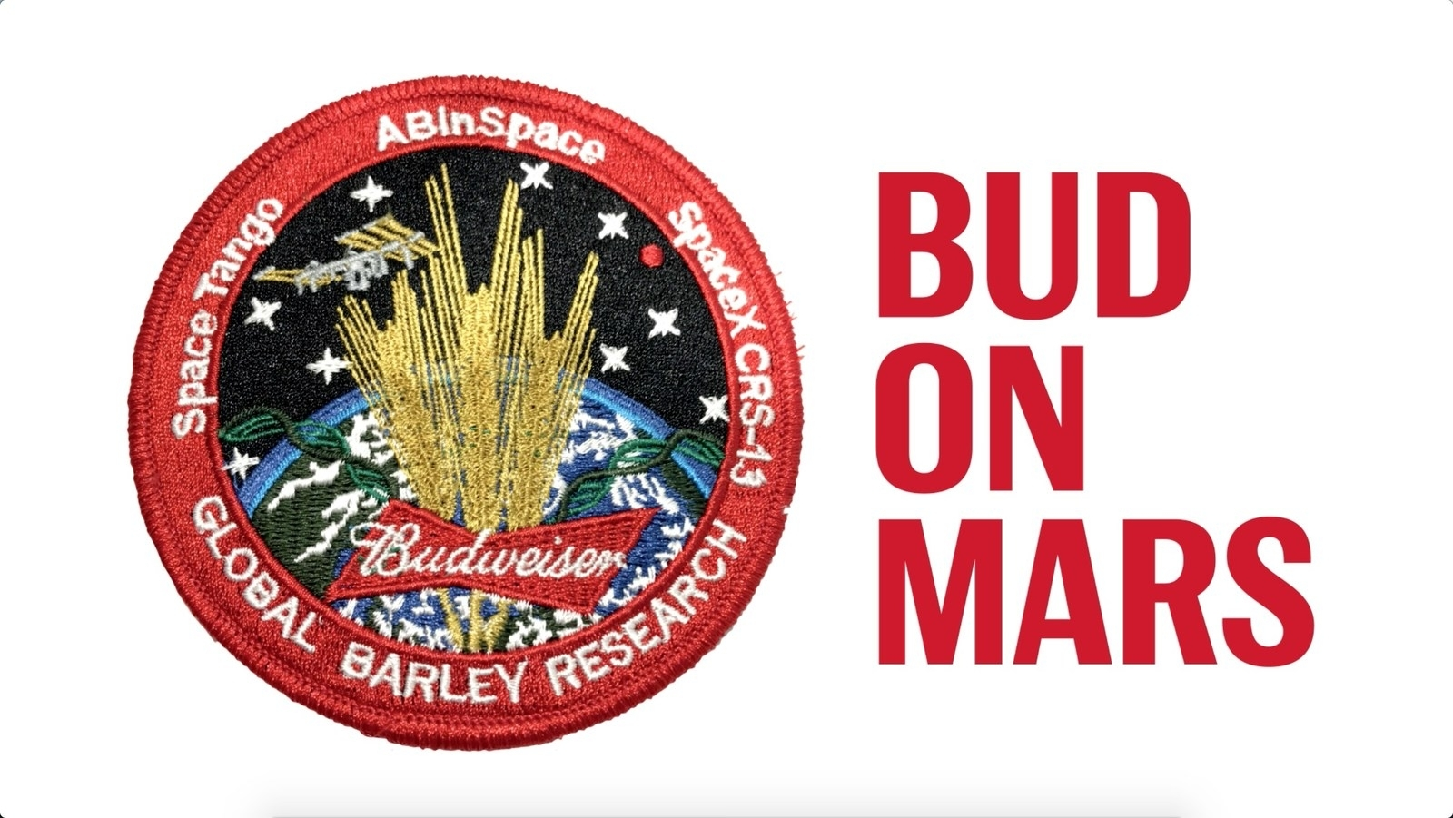 Budweiser - space beer