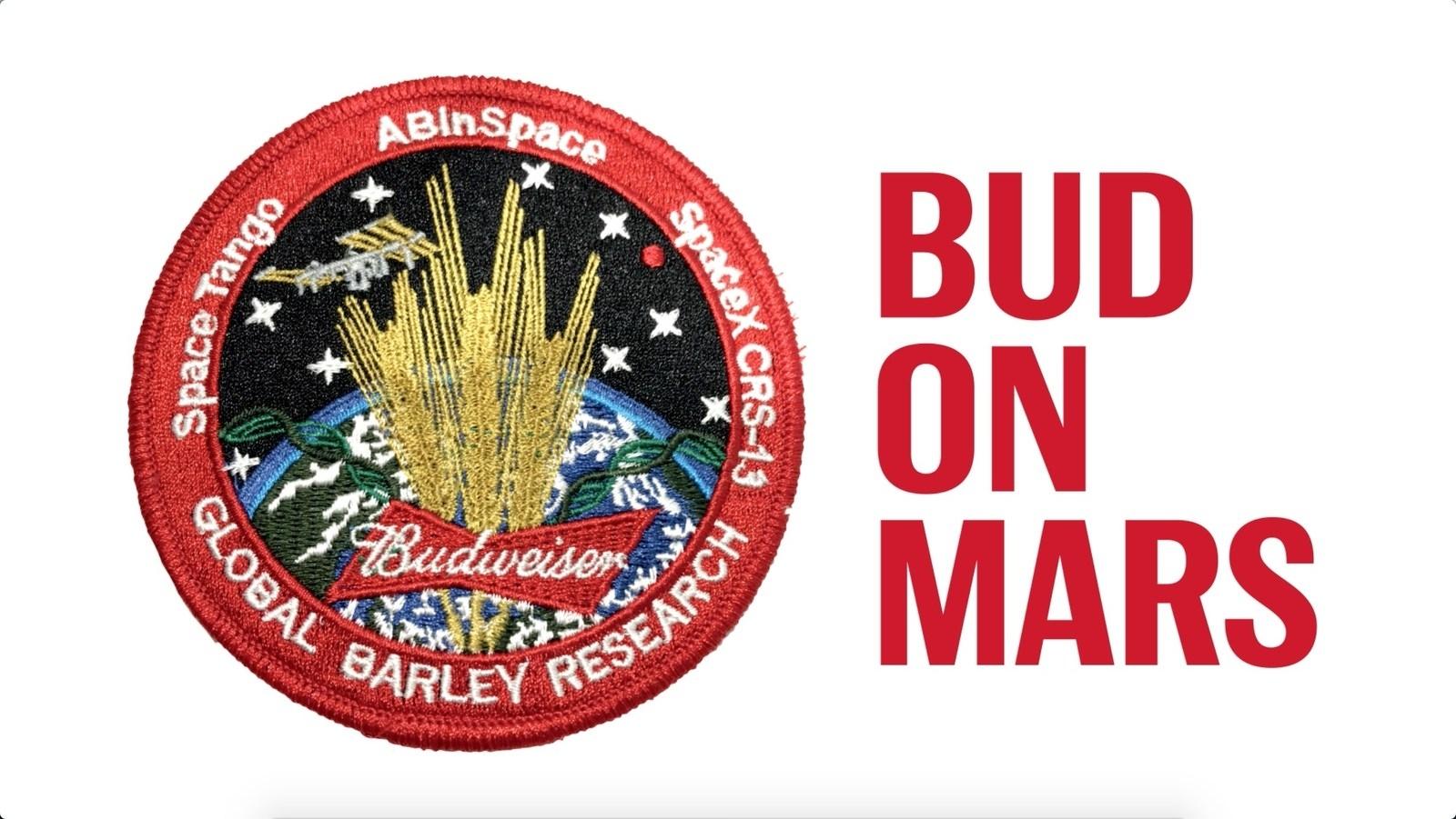 Budweiser - space beer