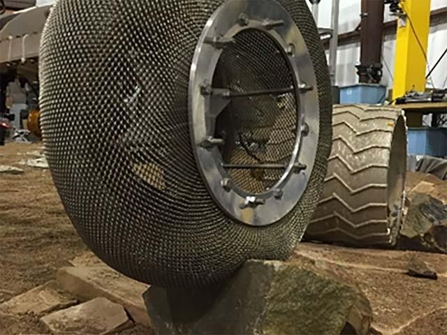 Nasa spring tire
