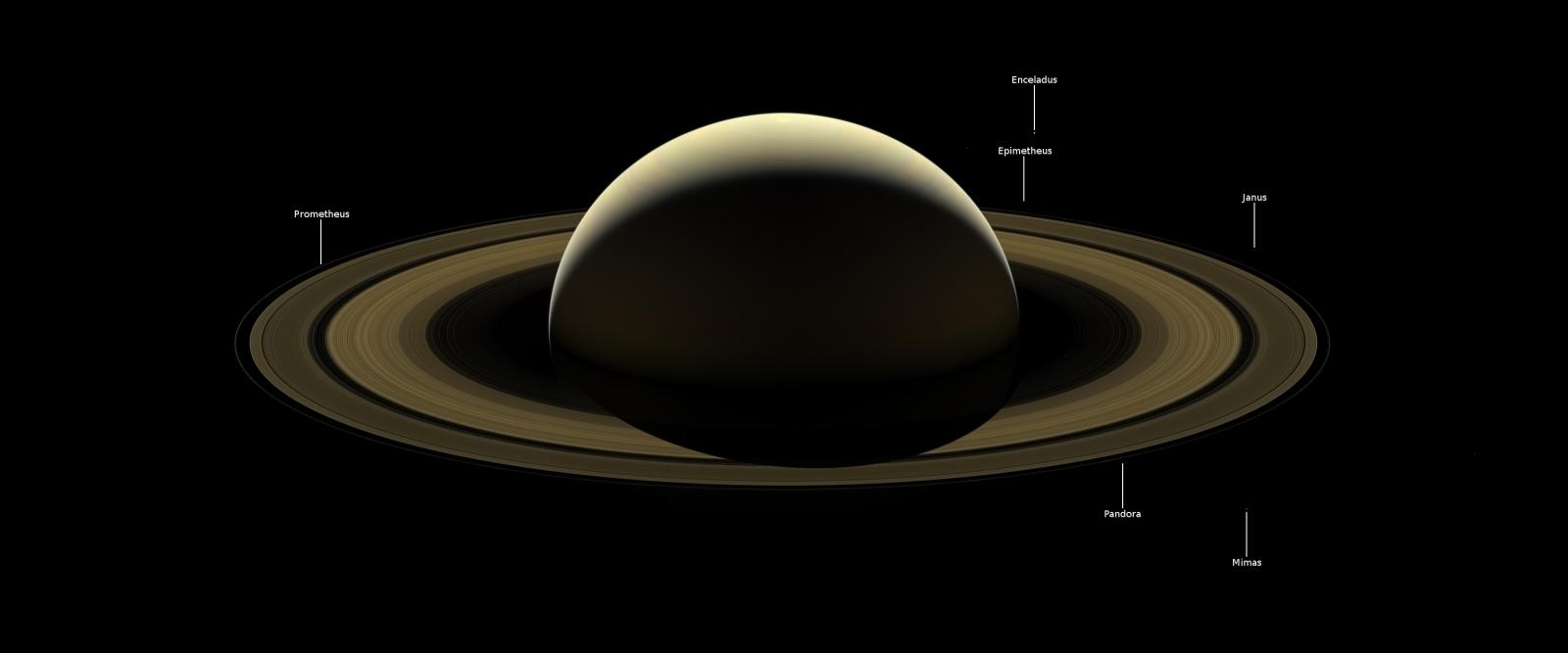 Cassini final image