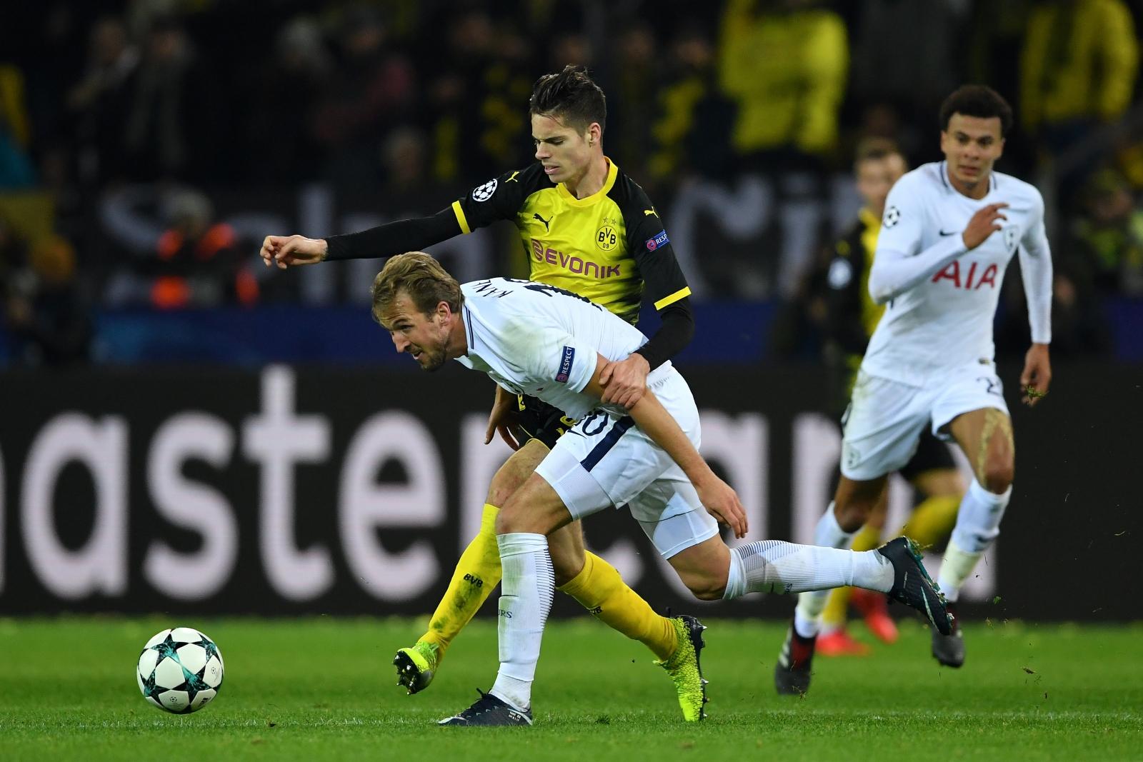 Dele Alli and Harry Kane reflect on Tottenham win over Borussia Dortmund