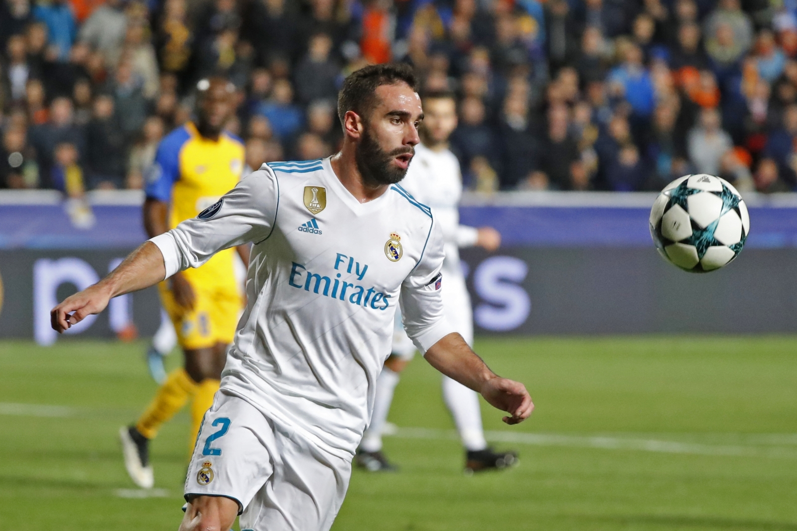 Real Madrid's Dani Carvajal facing two-game UEFA ban
