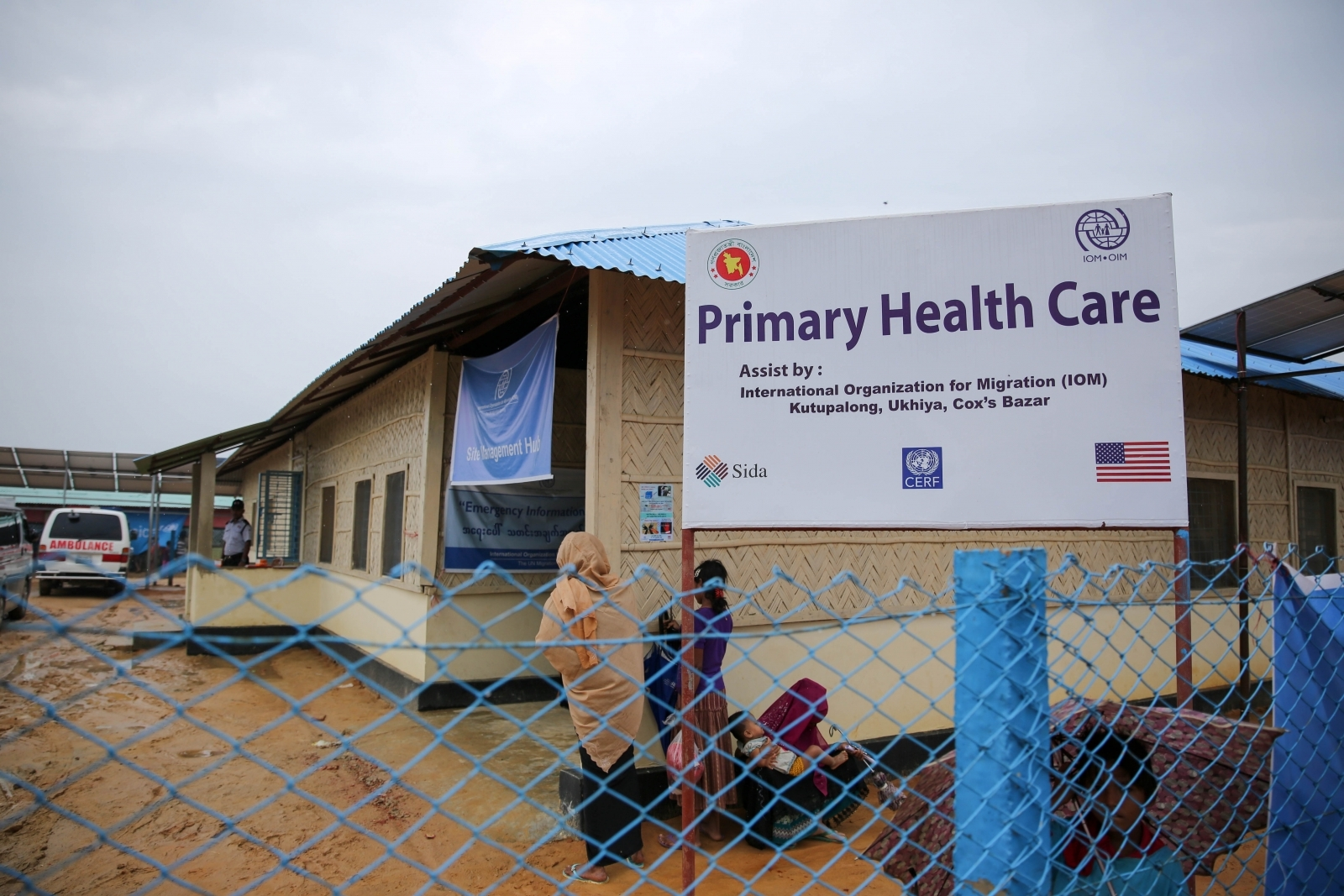 Health centre Rohingya refugee camp