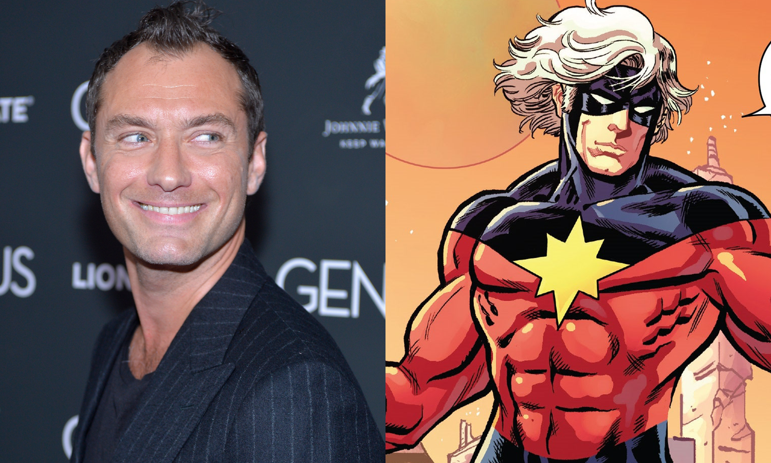 Jude Law Captain Marvel Mar-Vell